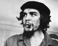 Che Guevara: um líder que acreditava na luta armada como meio de transformação política.
