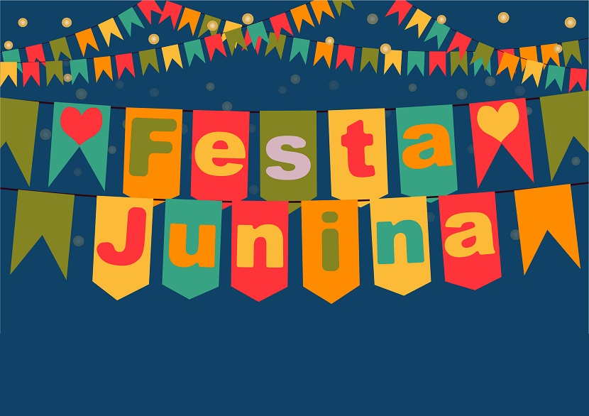 As festas juninas refletem as tradições populares rurais do Brasil