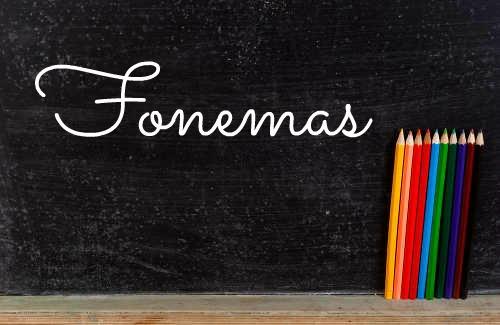 Os fonemas são os sons de uma língua