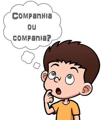 A palavra companhia e todos os substantivos dela derivados devem ser escritos com -nh