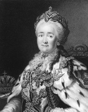 A rainha Catarina da Rússia integrou o quadro de déspotas esclarecidos do século XVIII
