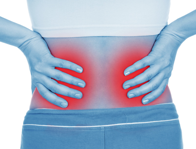 Os cálculos renais podem causar dores nas costas
