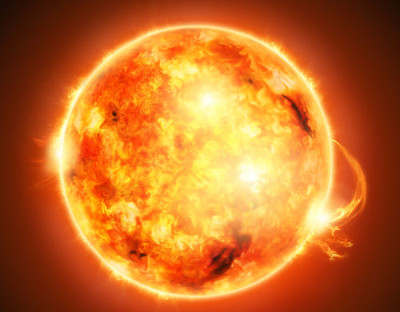 O Sol produz a radiação ultravioleta