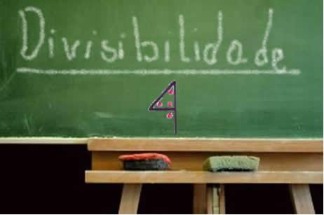 Critério de divisibilidade por 4.