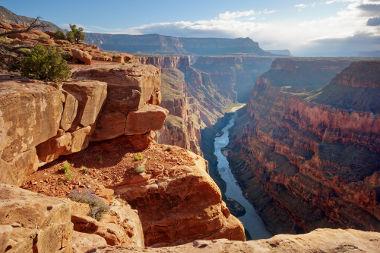 Grand Canyon, nos Estados Unidos. O Cânion mais famoso do mundo