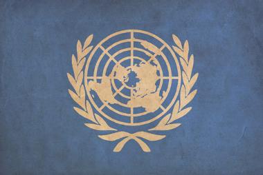 O símbolo da ONU é um mapa que busca enxergar todos os países da mesma forma