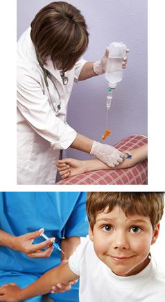 Os soros e as vacinas são usados para combater doenças