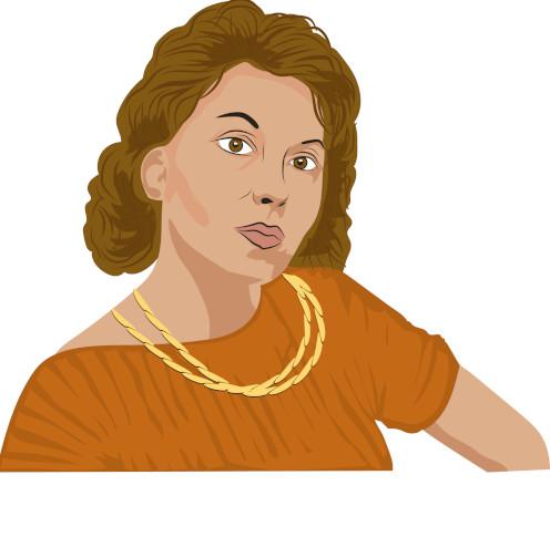 Clarice Lispector, grande escritora do Modernismo brasileiro.