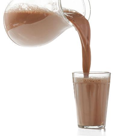 O chocolate em pó é muito utilizado para ser misturado ao leite