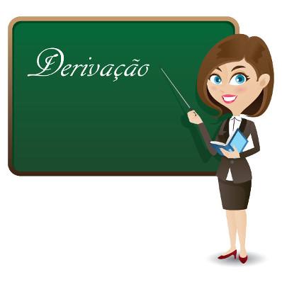 A Derivação é um dos processos de formação das palavras a partir da anexação de morfemas às palavras primitivas
