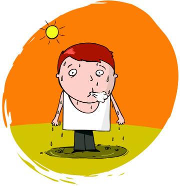 Você sabia que o suor é produzido por glândulas?