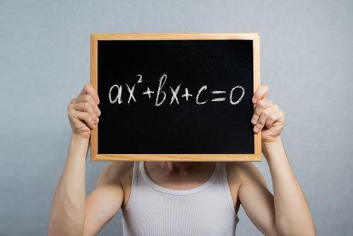 Equação usada como regra das funções do segundo grau, que são representadas por parábolas no gráfico