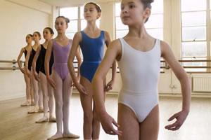 Garotas com boa postura.