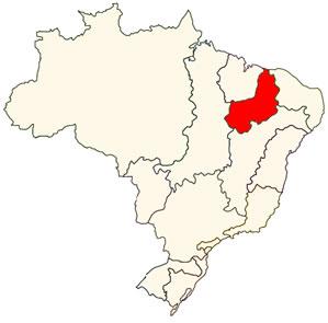 Localização da Bacia do Parnaíba