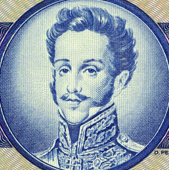 Dom Pedro I foi o imperador do Brasil durante o Primeiro Reinado (1822-1831).*