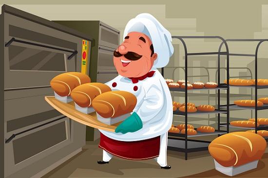 A produção de pães é uma arte milenar, ou seja, realizada há mais de mil anos