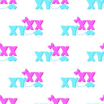 Os cromossomos sexuais (X e Y) são responsáveis por determinar o sexo dos bebês