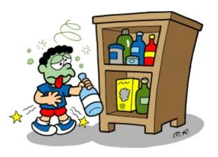 Produtos de limpeza causam intoxicação