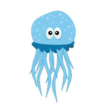 As águas-vivas apresentam substâncias urticantes principalmente em seus tentáculos