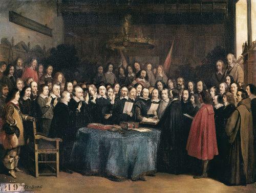 Congresso de Münster, crucial para o estabelecimento da Paz de Vestfália