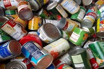 Alimentos com embalagens danificadas podem causar várias doenças