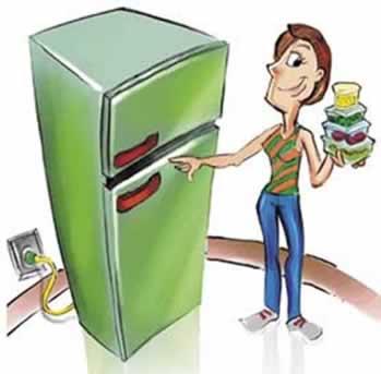 Organizar os alimentos na geladeira também é uma forma de conservá-los