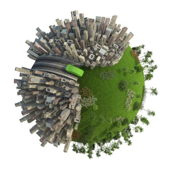Ação antrópica no meio ambiente provoca alterações negativas e positivas.