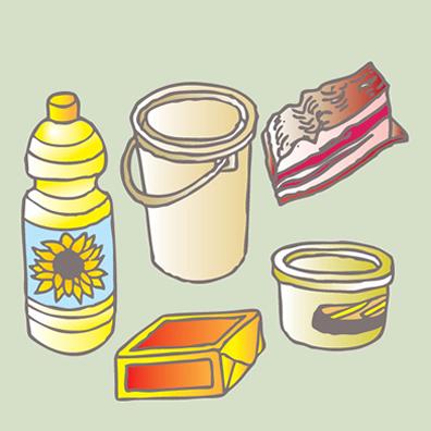 As gorduras animais e os óleos vegetais fazem parte do grupo dos lipídeos