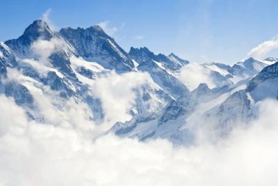 Região dos Alpes, na Suíça