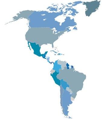 O continente em que vivemos, a América