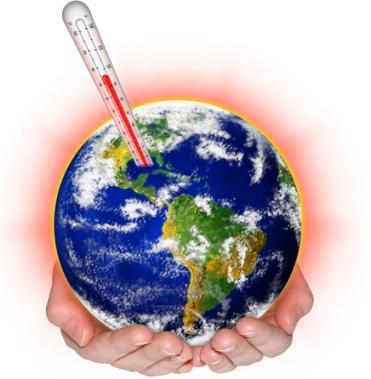 O aumento do efeito estufa provoca o aumento das temperaturas