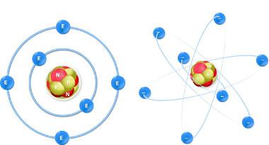 Modelos de átomos de carbono