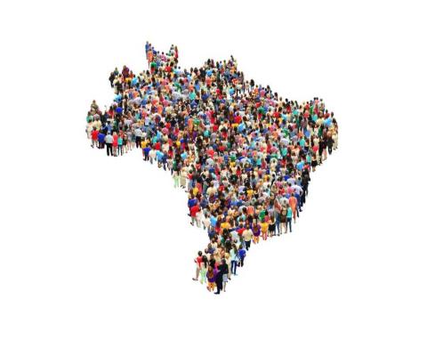 O Brasil é considerado populoso, mas pouco povoado, apresentando baixa densidade demográfica.