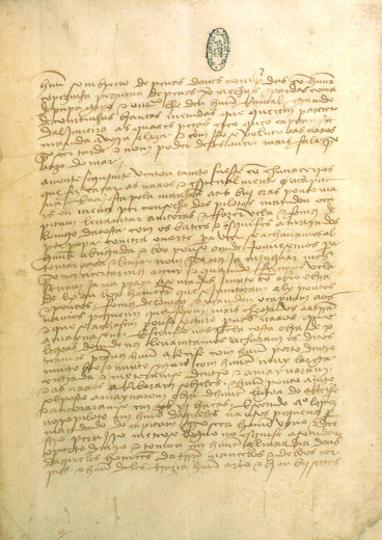 A Carta de Pero Vaz de Caminha, escrivão do rei de Portugal, é considerada a certidão de nascimento do Brasil