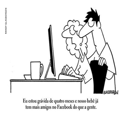 Cartum de Glasbergen - americano cartunista e ilustrador humorístico