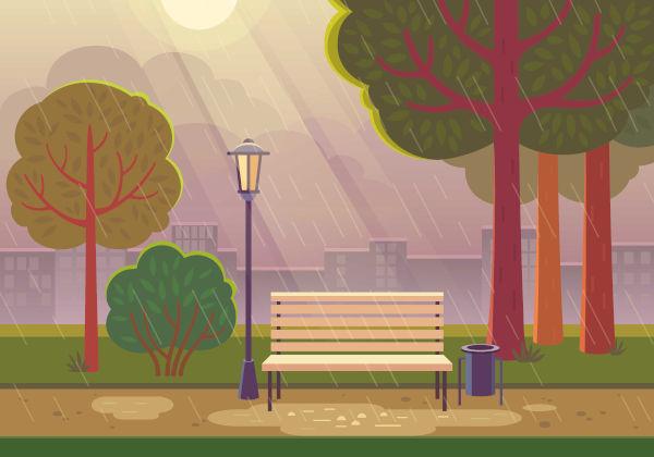 As chuvas convectivas também são conhecidas como chuvas de verão.