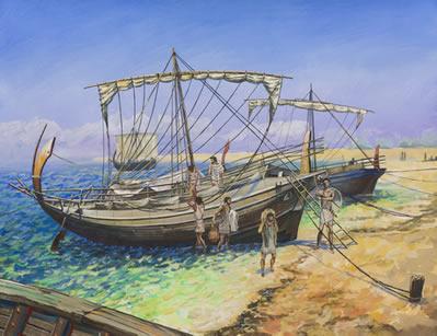 O comércio marítimo gerou imensas riquezas para Atenas