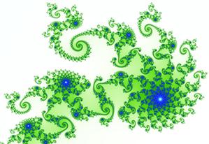 Gráfico de uma variação do conjunto de Mandelbrot