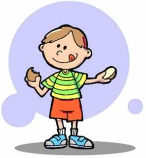 A saliva ajuda a digerir alguns alimentos ainda na nossa boca