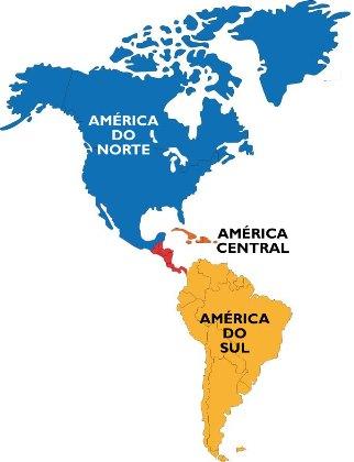 As regionalizações do continente americano