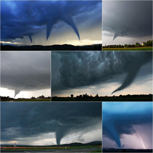 De acordo com o local de origem, o ciclone pode receber vários nomes: furacão, tufão, tornado e outros
