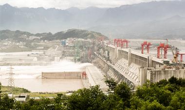 Usina de Três Gargantas, na China: a maior hidroelétrica do mundo