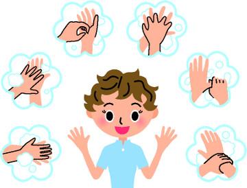 Uma medida simples, como lavar as mãos frequentemente, pode evitar as gripes e resfriados