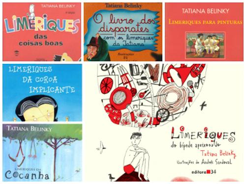 Legenda: Quando o assunto é limerique, Tatiana Belinky é mestre! A autora dedicou vários livros sobre o tema *