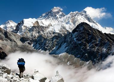 Monte Everest, a montanha mais alta do planeta
