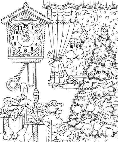 Natal Desenho Do Natal Para Pintar Escola Kids
