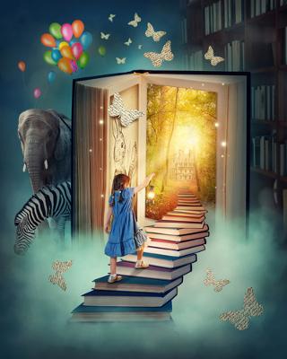 A Literatura é a arte das palavras. Através dela o leitor pode ser transportado para mundos diferentes!