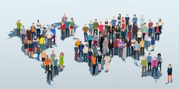 O conceito de populoso refere-se à relação entre o número de habitantes e área do local em km2.