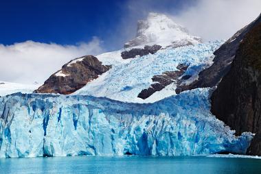 A Patagônia, na Argentina, é uma área muito fria em virtude de sua latitude