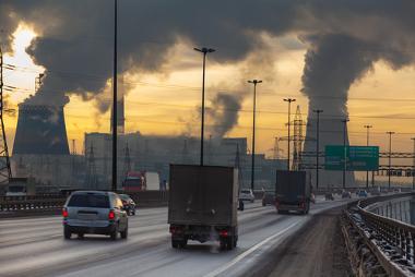 A poluição urbana contribui para deixar as cidades mais quentes